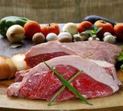 Picanha,传统巴西烤肉 免版税库存照片