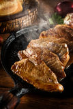 Picanha, beef traditional Brazilian barbecue. The picanha is present in all Brazilian steakhouse Royalty Free Stock Images
