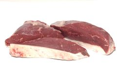 Picanha cut of raw meat choice of selected beef stock image