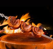 Picanha, traditional Brazilian barbecue. Gourmet Stock Images