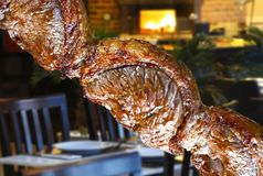 Picanha, traditional Brazilian barbecue. Stock Photography