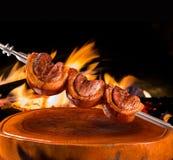 Picanha traditionell brasiliansk grillfest Arkivbilder