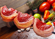 Picanha with vegetables Stock Photo