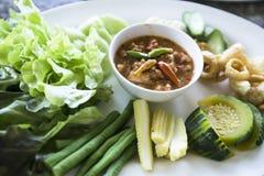 ` Picante s Roe Sauce del cangrejo Fotos de archivo