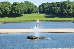 Picardie, το γραφικό κάστρο Chantilly Oise Στοκ Εικόνες