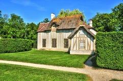 Picardie, το γραφικό κάστρο Chantilly Oise Στοκ φωτογραφίες με δικαίωμα ελεύθερης χρήσης