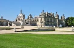 Picardie, το γραφικό κάστρο Chantilly Oise Στοκ Φωτογραφία