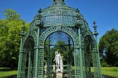 Picardie, το γραφικό κάστρο Chantilly Oise στοκ εικόνα