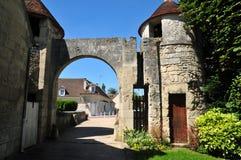 Picardie, το γραφικό χωριό Αγίου Jean aux Bois σε Ois Στοκ Εικόνες