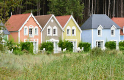 Picardie, το γραφικό χωριό της κηλίδας ηλίου του Fort-Mahon Somme Στοκ εικόνες με δικαίωμα ελεύθερης χρήσης