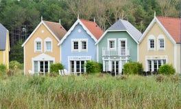 Picardie, το γραφικό χωριό της κηλίδας ηλίου του Fort-Mahon Somme Στοκ Εικόνα