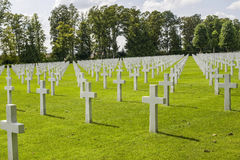 Picardie (France) - American War Cemetery Stock Images