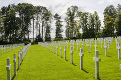 Picardie (France) - American War Cemetery Stock Photos