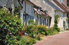 Picardie, het schilderachtige dorp van Heilige Jean aux Bois in Ois Royalty-vrije Stock Fotografie