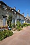 Picardie, het schilderachtige dorp van Heilige Jean aux Bois in Ois Royalty-vrije Stock Afbeeldingen