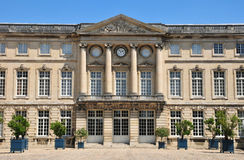Picardie, the picturesque castle of  Compiegne in Oise Stock Photos