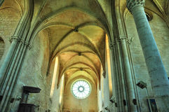 Picardie, the picturesque church of  Saint Jean aux Bois in Oise Royalty Free Stock Image