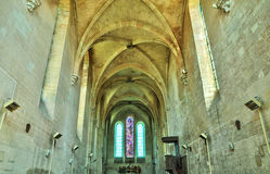 Picardie, the picturesque church of  Saint Jean aux Bois in Oise Royalty Free Stock Photography