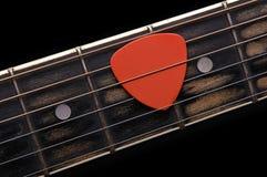 Picareta da guitarra fotos de stock