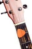 Picareta da guitarra imagem de stock royalty free