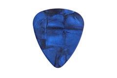 Picareta da guitarra fotografia de stock
