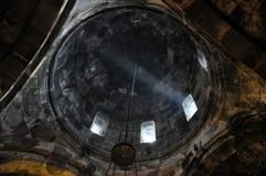 Picareta na igreja de Surb Geghard Foto de Stock Royalty Free