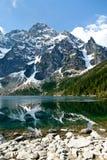 Picaretas polonesas de Mieguszowiecki das montanhas de Tatra Foto de Stock