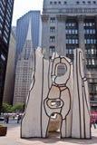 Picasso bij Daley Plein Chicago Stock Afbeeldingen