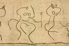 Picasso. Children Frieze. dancers detail Stock Photos