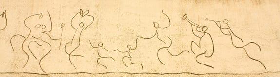 Picasso. Fregio dei bambini Fotografia Stock
