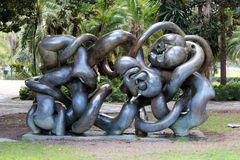 Free Picasso Garden In Malaga, Spain Royalty Free Stock Photography - 86286407