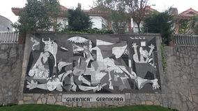 Picasso Gernica Royaltyfri Bild
