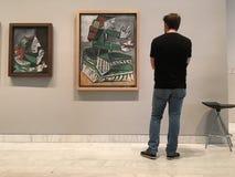 Picasso målningar Fotografering för Bildbyråer