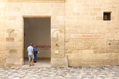 Picasso museum Arkivfoto
