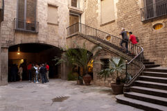 Picasso Museum of Barcelona Stock Photography