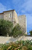 Picasso Museum, Cote a`zur, provence france stock photography