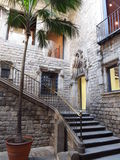 Picasso museum i Barcelona Royaltyfria Bilder