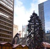 Picasso mustert Weihnachten Stockbilder