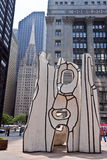 Picasso na plaza Chicago de Daley imagens de stock