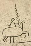 Picasso. Popular festivals, detail Stock Photo