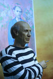 Picasso's wax figure Royalty Free Stock Images