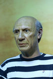 Picasso's wax figure Stock Images