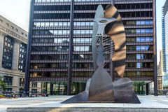 Picasso Sculpture in Chicago Royalty Free Stock Photo