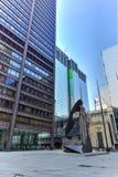 Picasso skulptur i Chicago Arkivfoton
