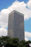 Picasso Tower. Tower on the coulds, modern, Madrid Royalty Free Stock Image