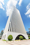 Picasso Tower at financial center in Madrid Royalty Free Stock Photo