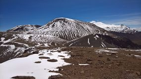Picavilque góra - Chile Zdjęcie Royalty Free