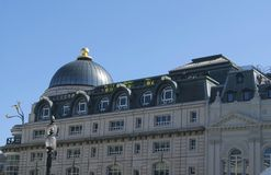 Piccadilly Circus building in London, England Stock Photography