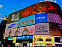 Piccadilly Circus Royalty Free Stock Photography