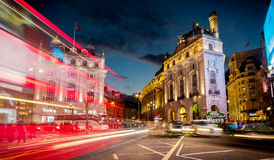 Piccadilly Circus, Central London Royalty Free Stock Photo